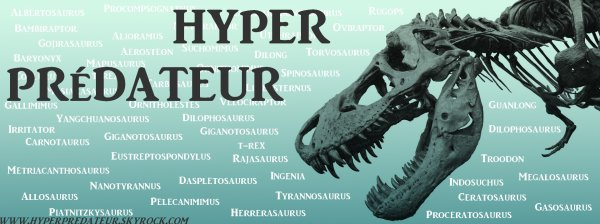 Articles de hyperpredateur tagg s dinosaure hyper - Liste des dinosaures carnivores ...
