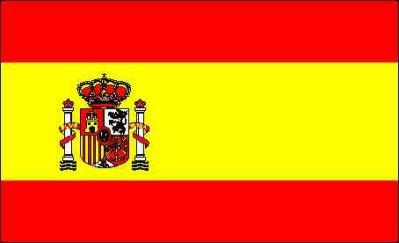 couleurs du drapeau de l espagne - Image