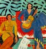 Henri Matisse  :   la musique  (1939)