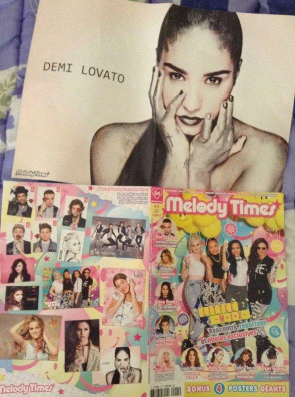 Demi dans melody Times