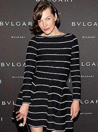 Milla Jovovich enceinte !