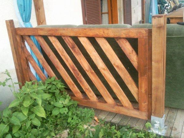 balustrade pour le tour de terrasse blog de fred. Black Bedroom Furniture Sets. Home Design Ideas
