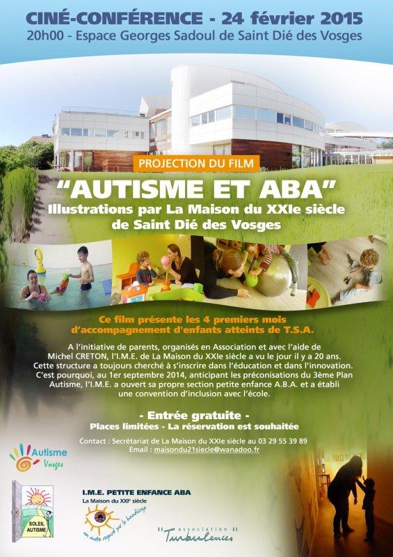 """Ciné-conférence sur le thème """"Autisme et ABA"""""""