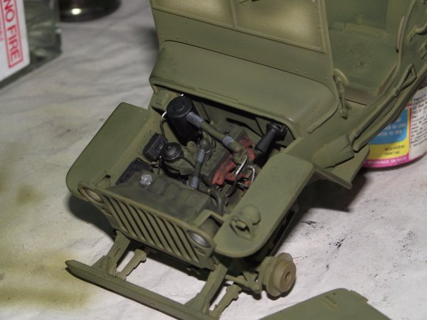 Chaise Cuisine Bleu : Jeep Willys