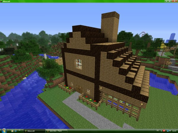 Articles de dydyzanon55 tagg s minecraft - Construction minecraft maison ...