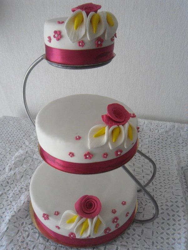 wedding cake ka?cy 60 parts guadeloupe - jimypatisserie