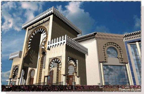 Nouvelle a�rogare de l'a�roport de Tlemcen (Zenata-Messali El Hadj)