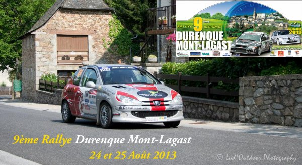 Pr�sentation Rallye de Durenque Mont-Lagast 2013