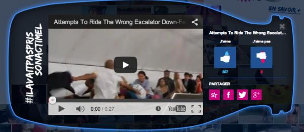 Press� le lundi matin ! Attention aux escalators