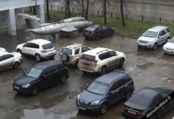 Euh.. Je me suis peut-être trompé de parking !