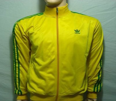 veste adidas vert jaune rouge