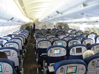 Interieur d 39 air france etre steward c pas si hard for Interieur 747 air france