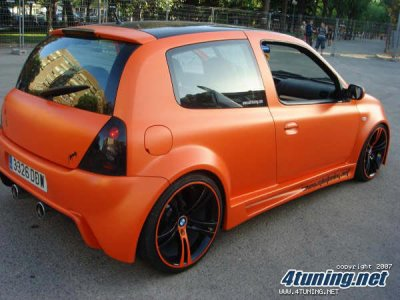 renault clio 2 tuning france. Black Bedroom Furniture Sets. Home Design Ideas