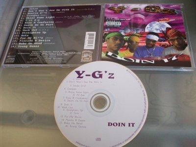 Y-G'z - Doin It