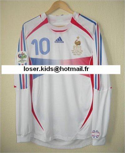 maillot pr par pour zidane finale de la coupe du monde 2006 italie france blog de mgue match worn. Black Bedroom Furniture Sets. Home Design Ideas