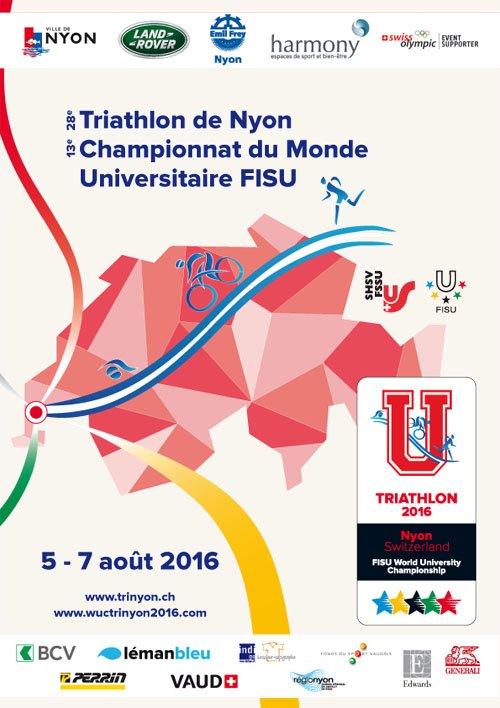 Triathlon de Nyon (CH) les 6 et 7 ao�t 2016