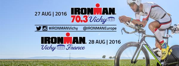 HALF IRONMAN et IRONMAN VICHY(03) les 27 et 28 ao�t 2016