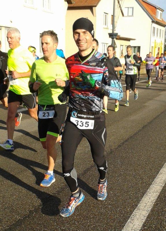 Course de la Sainte-Barbe 10km à Wittelsheim (68) le 20 novembre 2016