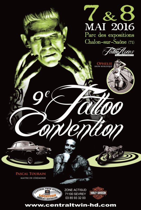 9�me Convention Tattoo de Chalon-sur-Sa�ne