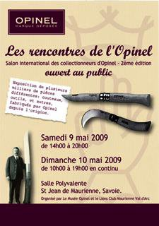 Rencontres opinel