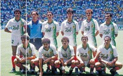 Dz team face au samba du brazil leur de la coupe du monde 1986 au mexique mes images - Coupe du monde mexique 1986 ...