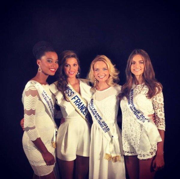 Iris Sylvie et les dauphines - Croisi�re Miss France