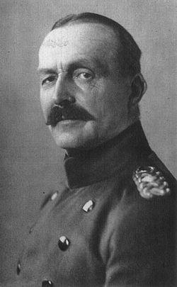 Personnages important pendant la bataille de la somme : H. von Stein