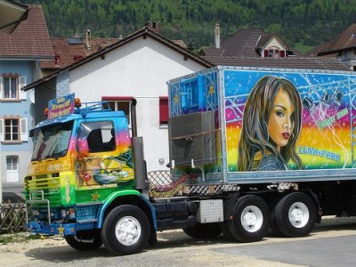 Camion Forain Scania Camion Forever