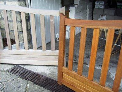 Pose claustra et barrieres blog de tapeclou - Acide oxalique bois exotique ...