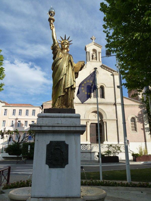 Statue de la Liberté, illuminatis