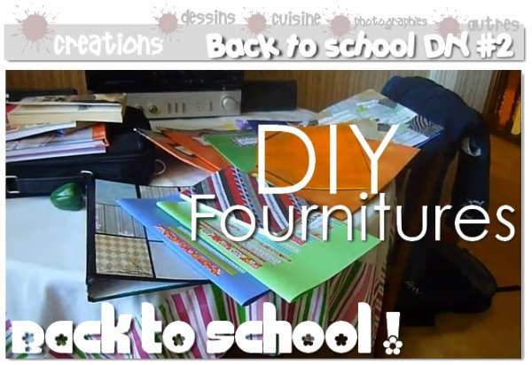 diy relooker ses fournitures scolaires cahiers classeurs blocs notes lutins. Black Bedroom Furniture Sets. Home Design Ideas