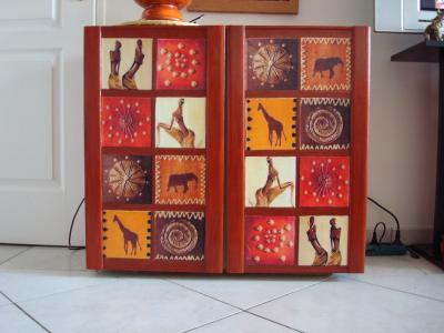 meuble africain mes creations. Black Bedroom Furniture Sets. Home Design Ideas