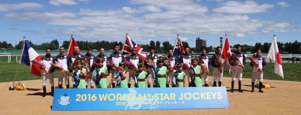 Worl all star jockeys