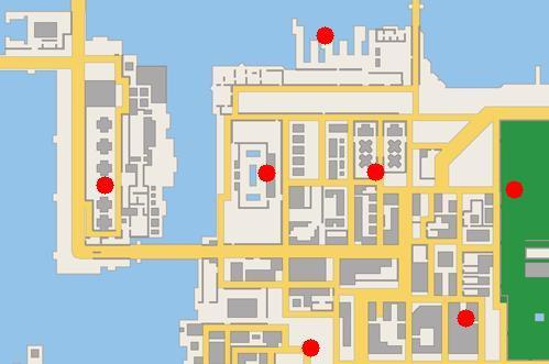 Les Dealers dans GTA Chinatown Wars
