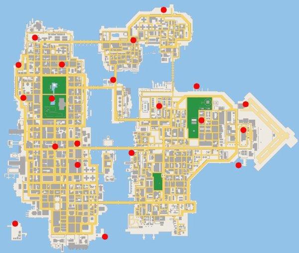 les 20 lions de GTA Chinatown Wars