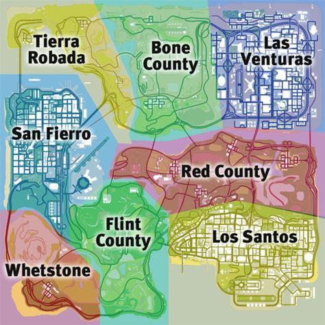 Comment bien choisir son lieu de Séjour à San Andreas