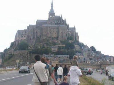 Passage par le Mont Saint Michel
