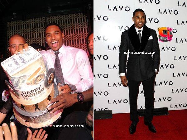 .     EVENEMENT 27.11.2011: Soirée d'anniversaire de Trey @LAVO CLUB (Las Vegas) .