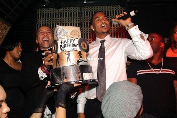 .     EVENEMENT 27.11.2011: Soir�e d'anniversaire de Trey @LAVO CLUB (Las Vegas) .