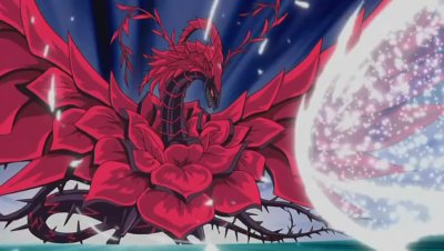 Yu gi oh black rose dragon theme
