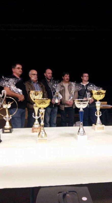 Les 4 grand prix d'élevage au concours de notre club