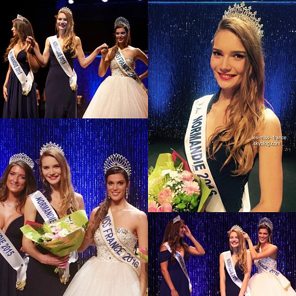 Miss Normandie 2016 est Esther Houdement