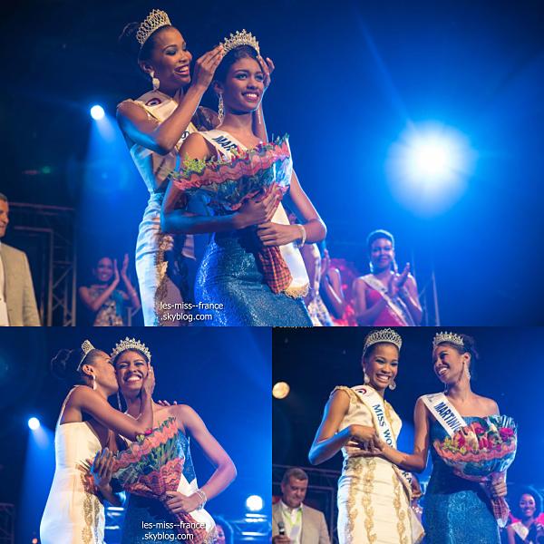 Miss Martinique 2016 est Aur�lie Joachim