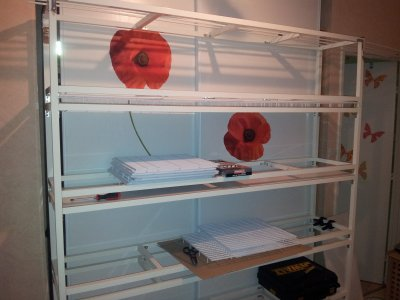 fabrication de batterie elevage 16 box raza fife. Black Bedroom Furniture Sets. Home Design Ideas