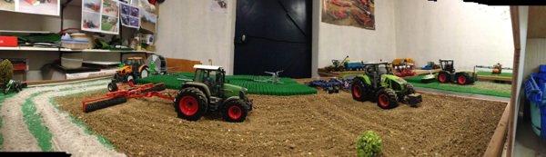 Quelques photos de la ferme en mode panoramique avec mon iPhone 5 pour bien commencer la nouvelle ann�e :)