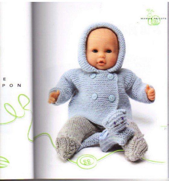 Tuto tricot du livre phildar habits poupon blog de aupaysdutricotdespoupees - Tuto tricot debutant gratuit ...