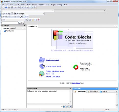 Télécharger Code::Blocks Studio ( gratuit )