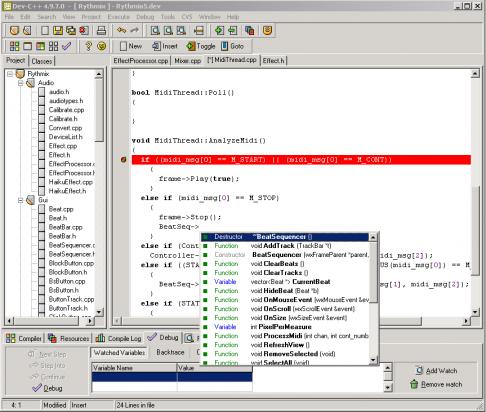 Télécharger Dev-C++ ( gratuit )