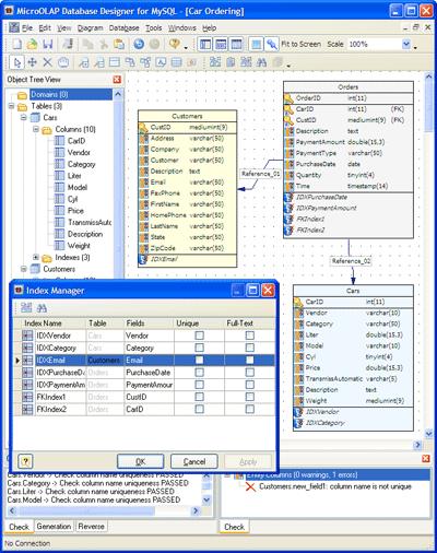 Télécharger DB Designer ( gratuit )