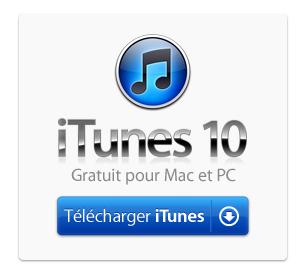 Télécharger iTunes10 Version Final ( gratuit )